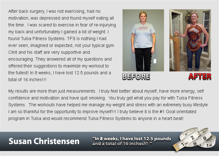 ch testimonial Susan Christensen Success Stories