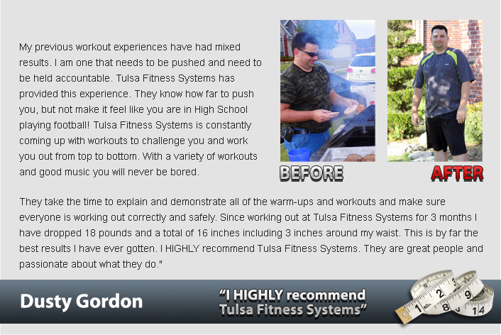 ch testimonial dusty gordon1 Fitness Boot Camps Tulsa