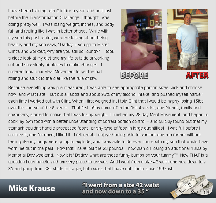 ch testimonial mike krause Success Stories